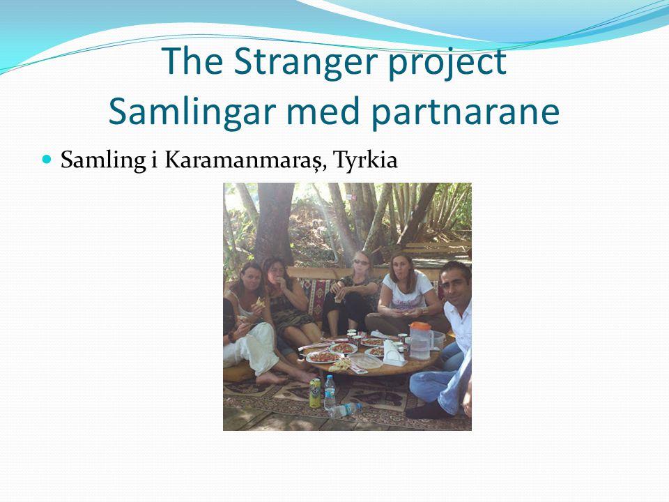 The Stranger project Samlingar med partnarane Samling i Karamanmaraş, Tyrkia