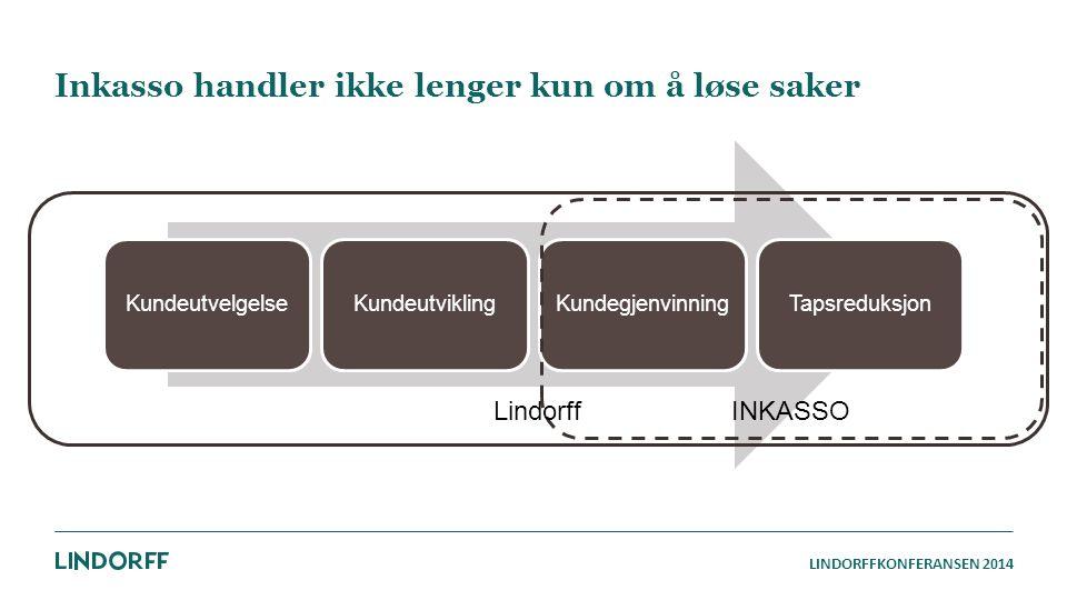 Inkasso handler ikke lenger kun om å løse saker INKASSO Lindorff