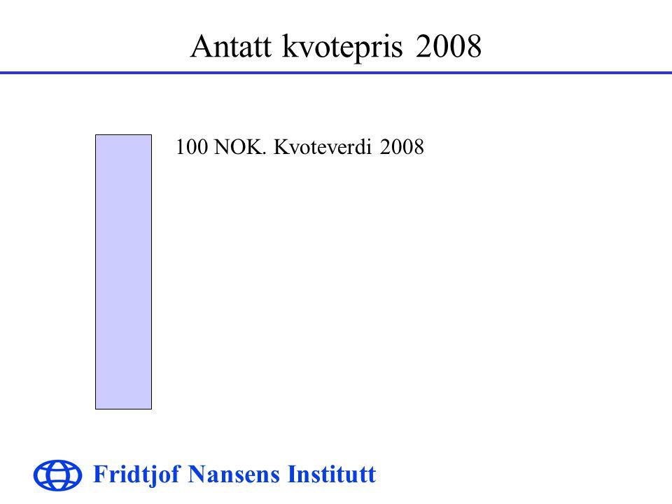 Fridtjof Nansens Institutt Markedspris i dag 28 NOK. Markedsverdi i 2001