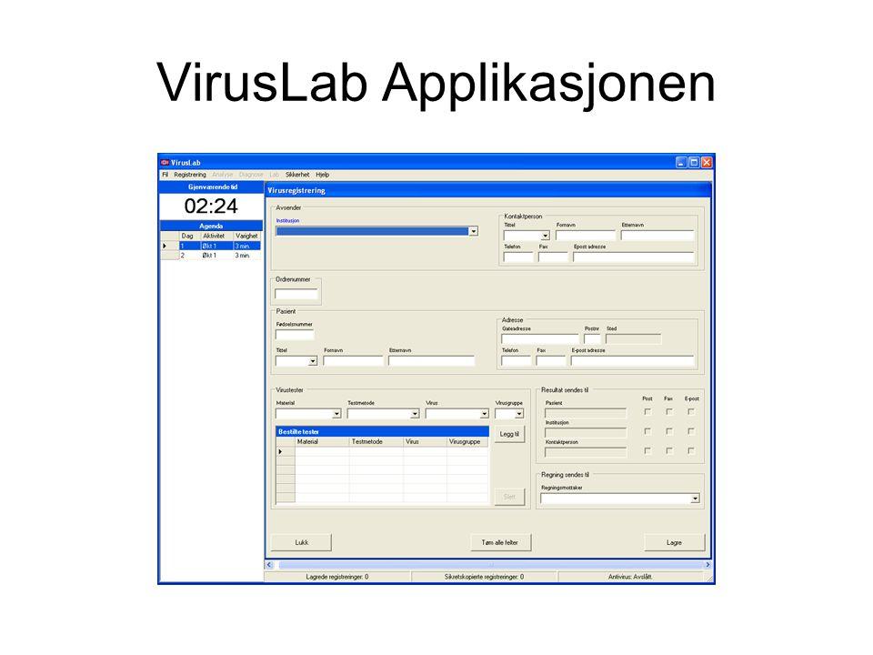 VirusLab Applikasjonen