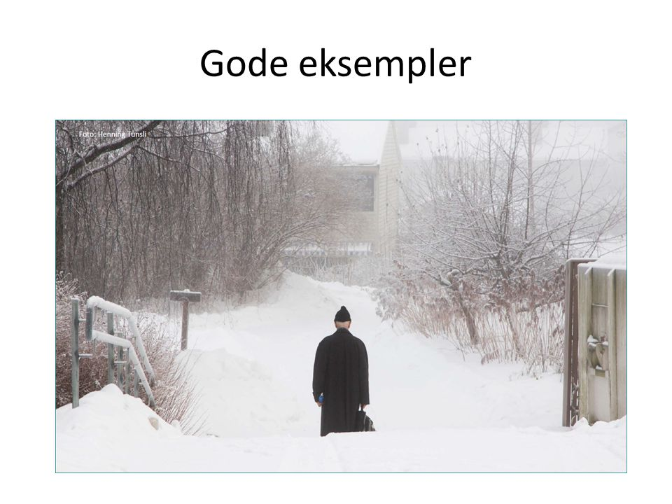 Gode eksempler