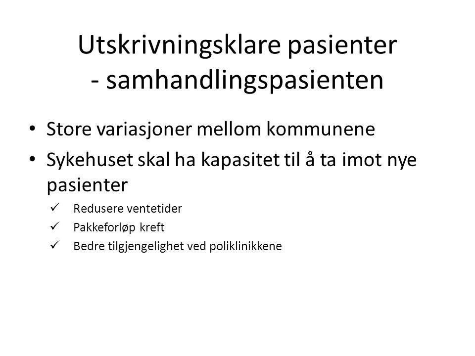 ANTALL OVERLIGGERDØGN