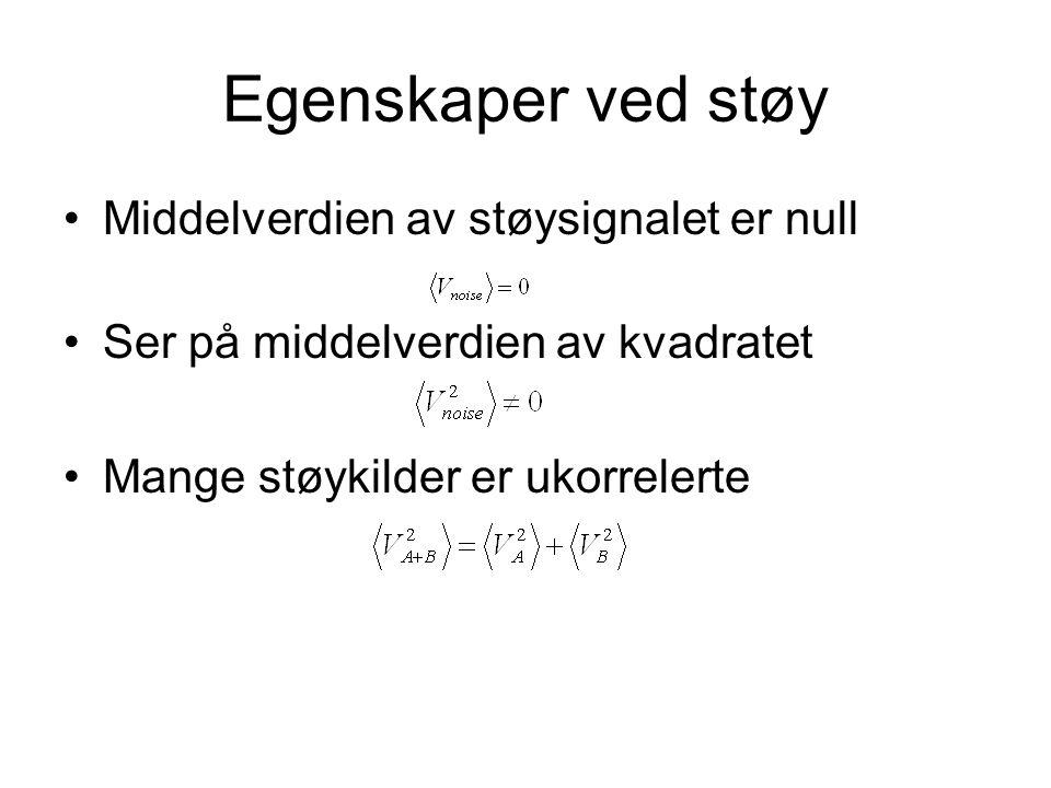 Seebeck støy
