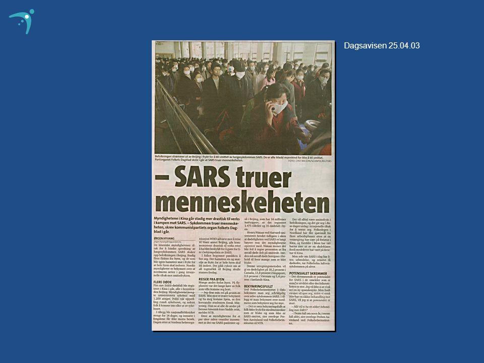 Dagsavisen 25.04.03