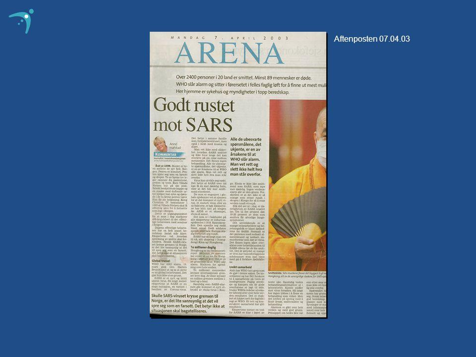 Aftenposten 07.04.03