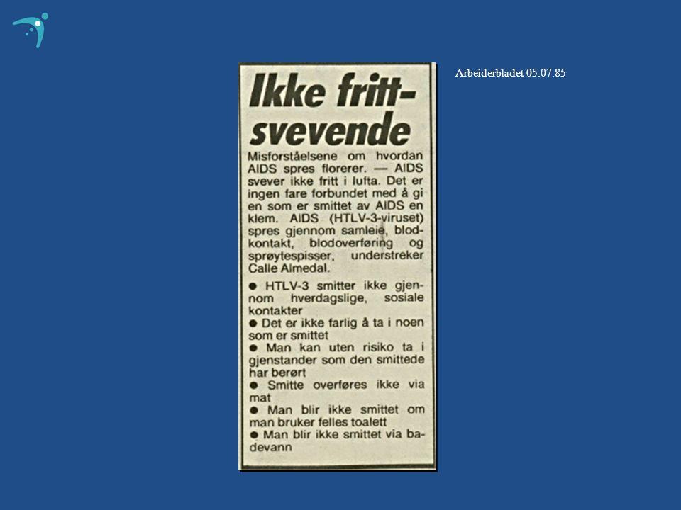 Arbeiderbladet 05.07.85