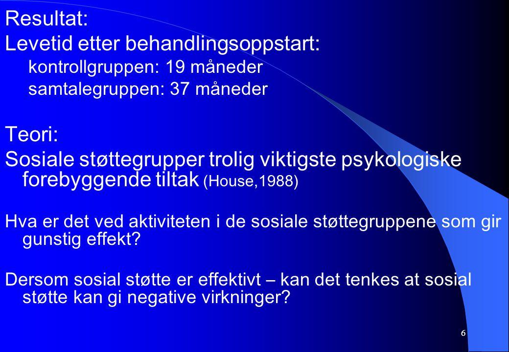 27 Generelle Adaptasjons syndromet (GAS) 1.
