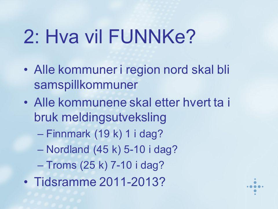 Hva er FUNNKe region nord.