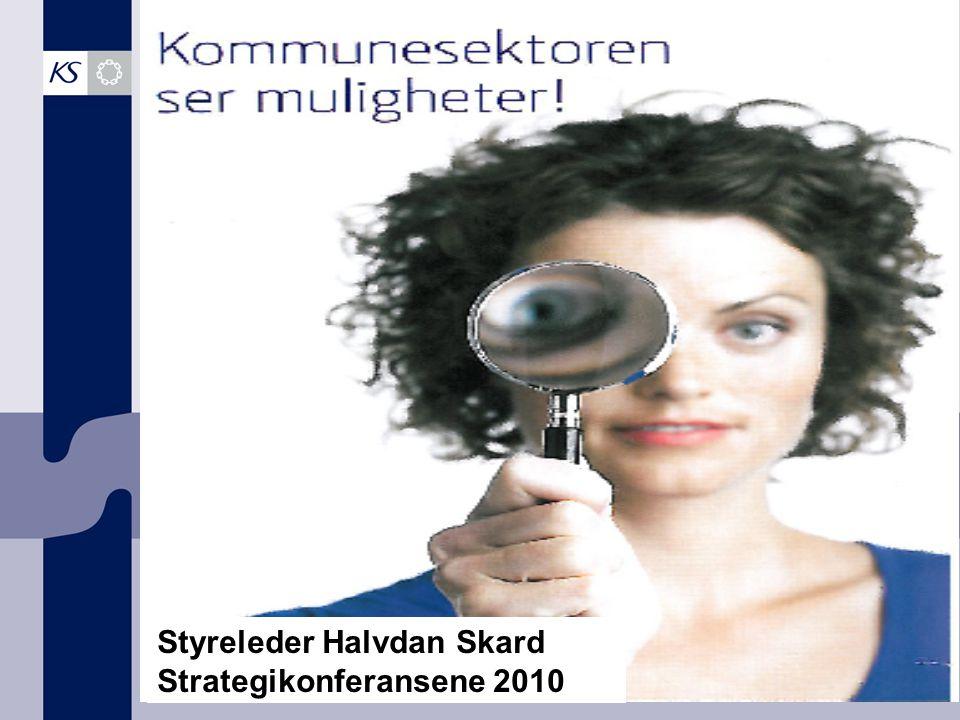 Styreleder Halvdan Skard Strategikonferansene 2010
