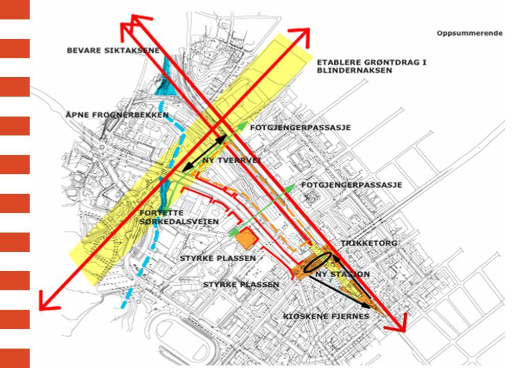 Knutepunktet Tunnelbanen og kollektivsystemet på overflate knyttes tett sammen.