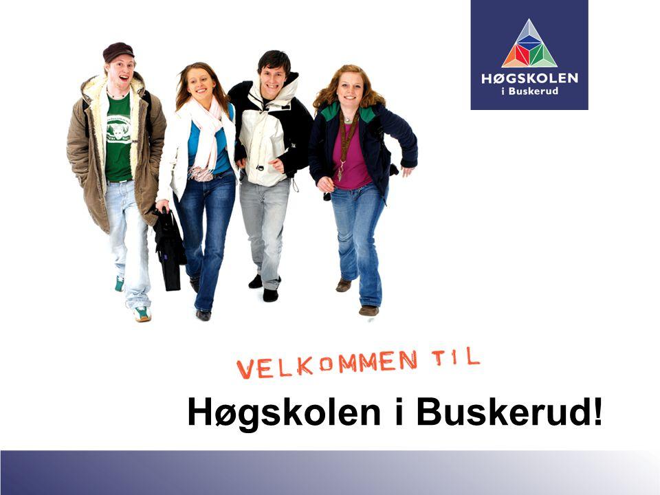 Høgskolen i Buskerud!