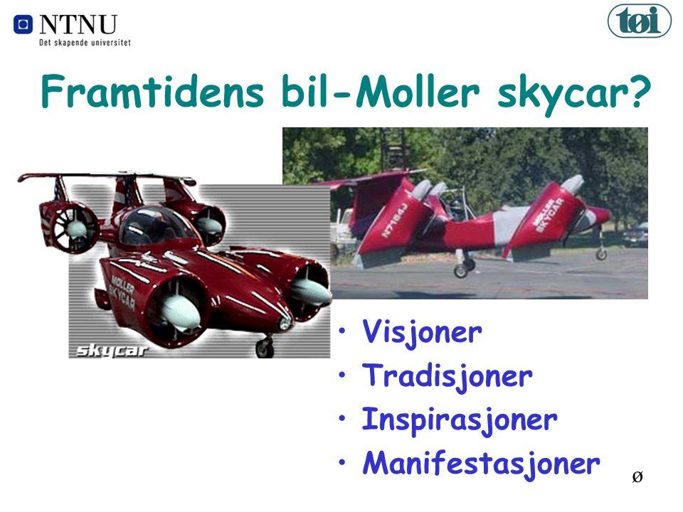 Framtidens bil-Moller skycar ø Visjoner Tradisjoner Inspirasjoner Manifestasjoner
