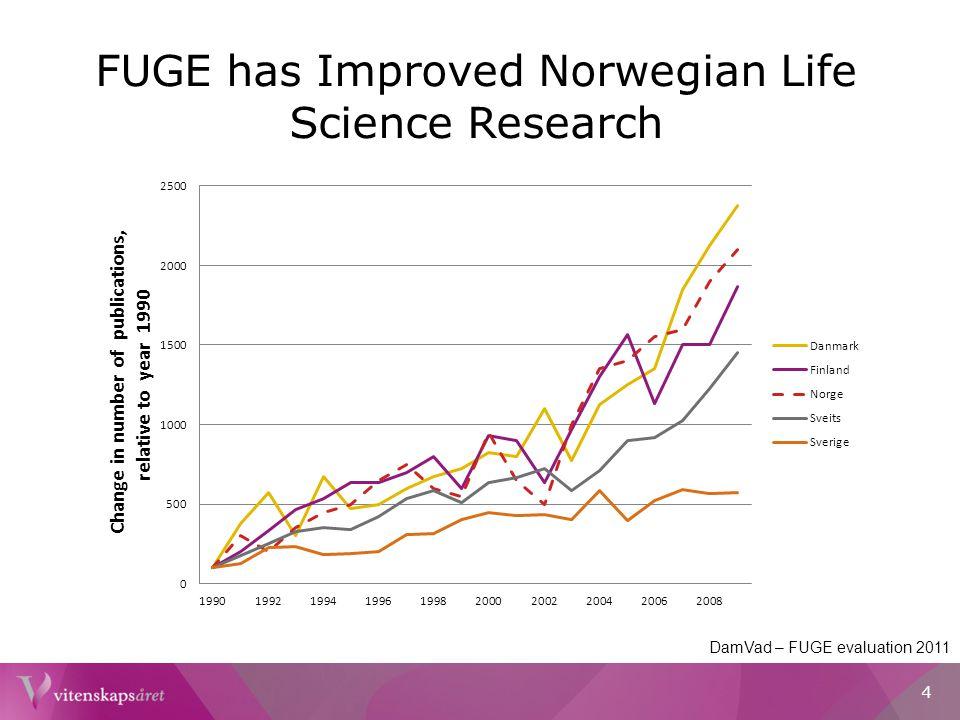 Financial Support of Public Institutions NIFU – Rapport om Bioteknologi 2011 5
