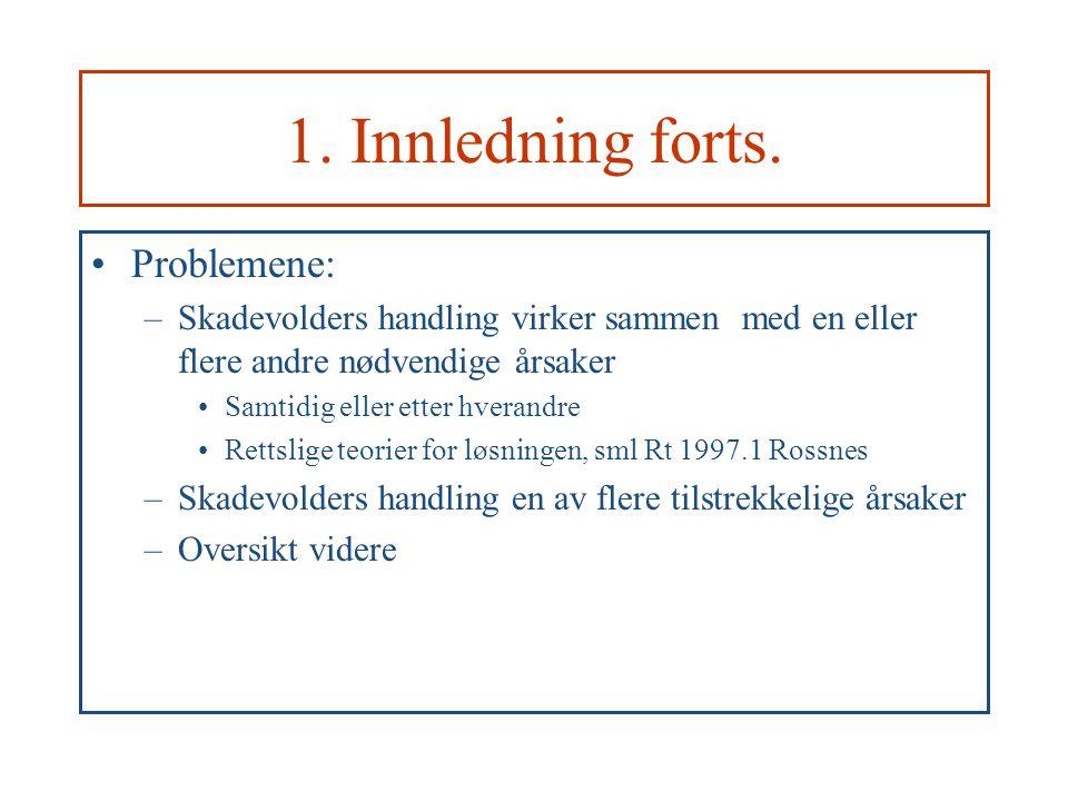 1.Innledning forts.