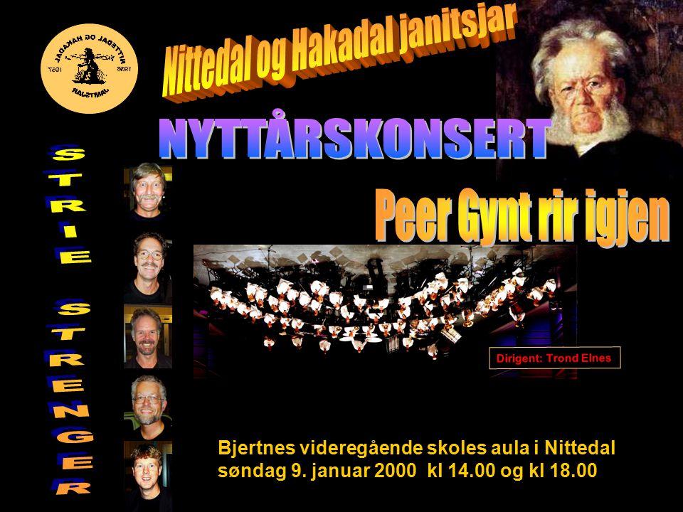 Bjertnes videregående skoles aula i Nittedal søndag 9.