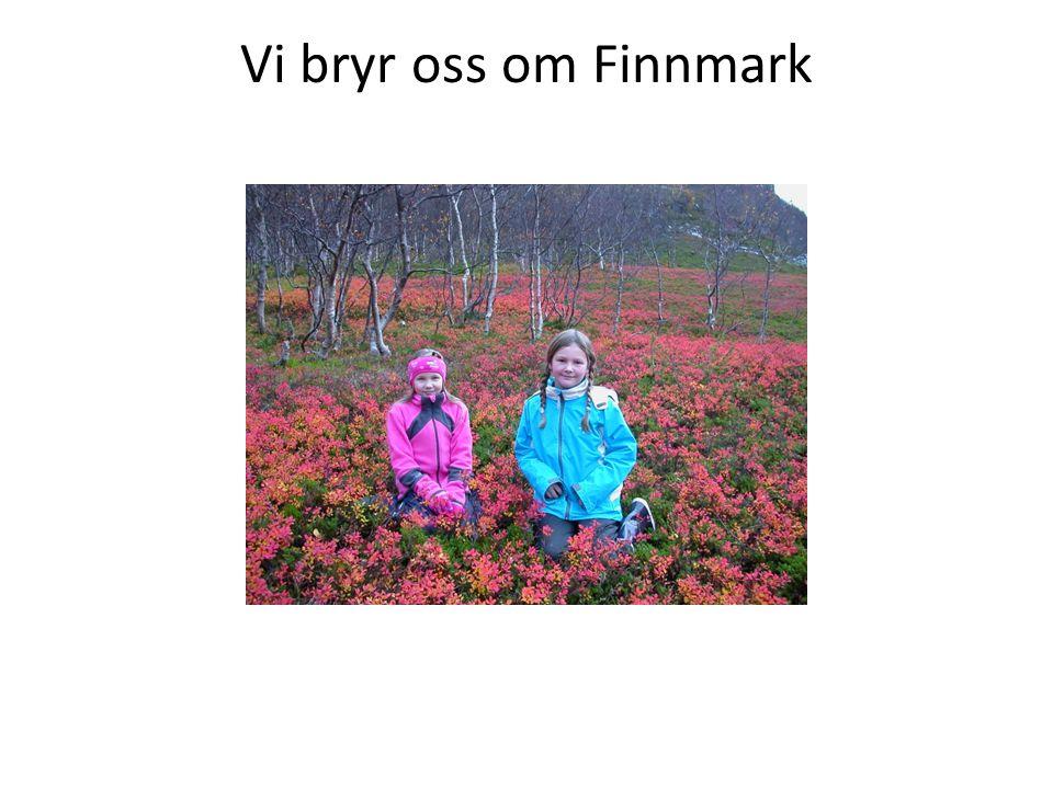 Vi bryr oss om Finnmark