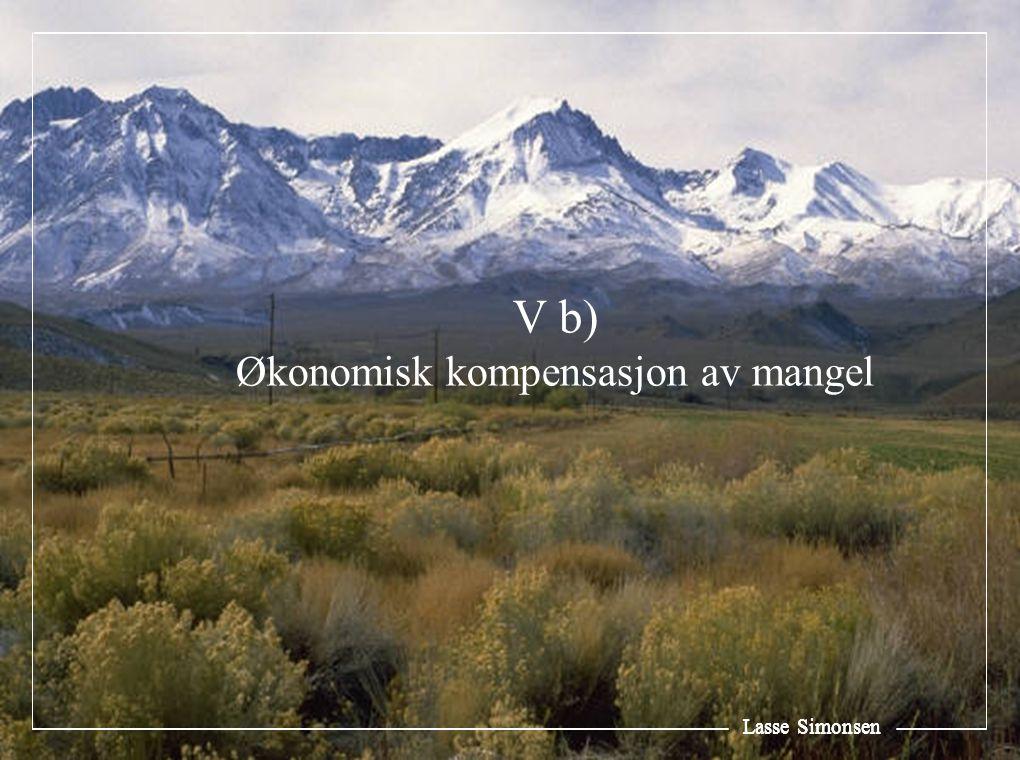 Lasse Simonsen V b) Økonomisk kompensasjon av mangel Lasse Simonsen