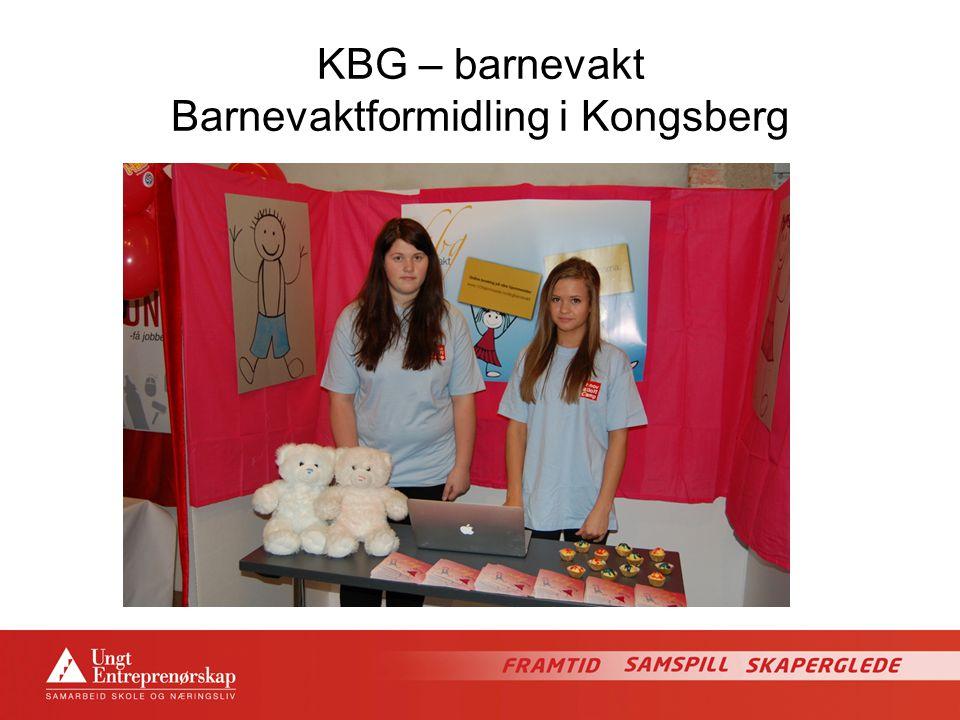 KBG – barnevakt Barnevaktformidling i Kongsberg