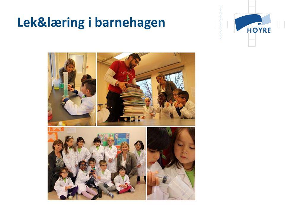 Lek&læring i barnehagen
