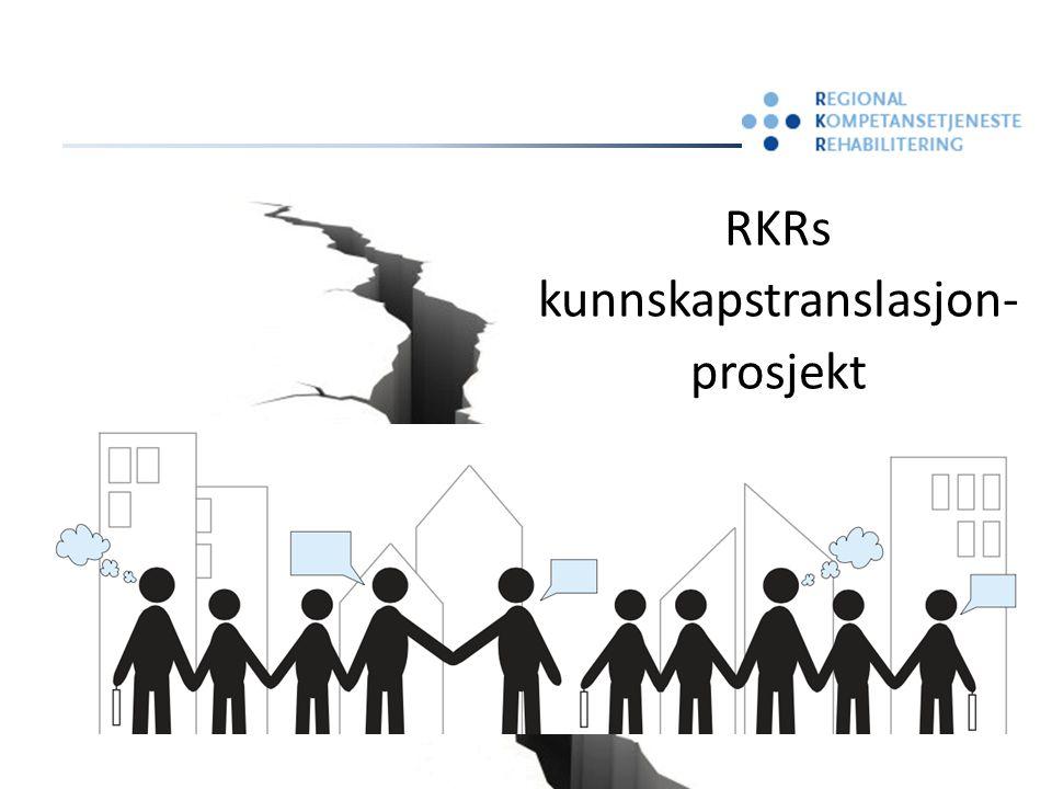 RKRs kunnskapstranslasjon- prosjekt