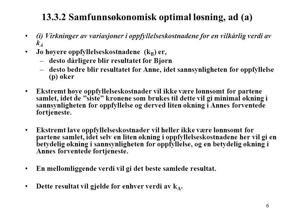 17 14.3.2 Positiv analyse (forts.) Alt.