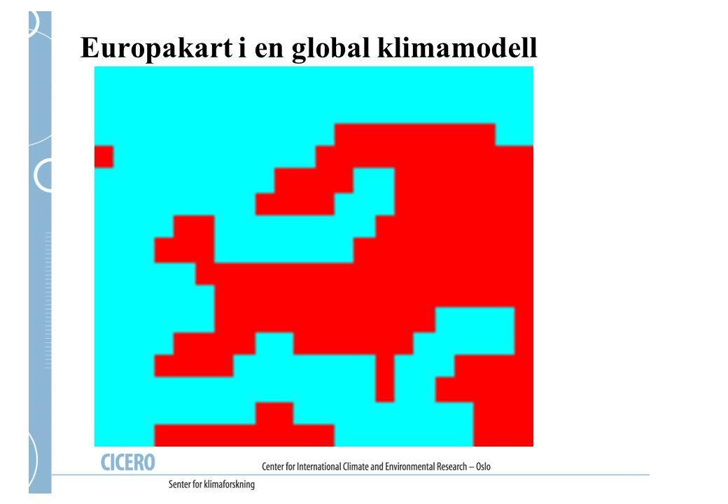 Klimaendring i Voss NB.Bare resultat fra én modell, dette er ikke værvarsel.