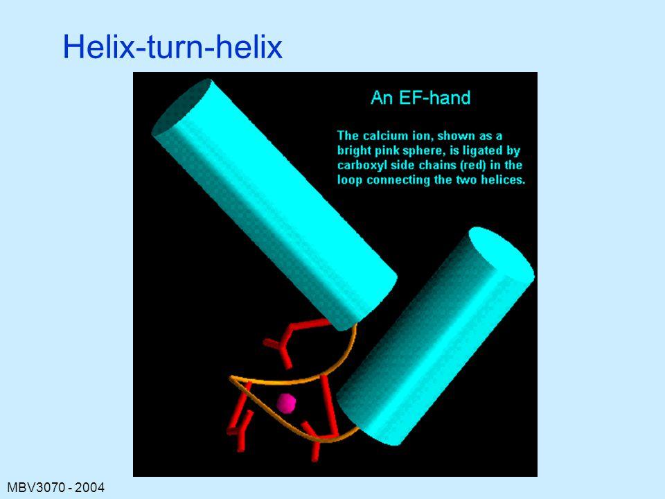 MBV3070 - 2004 Helix-turn-helix