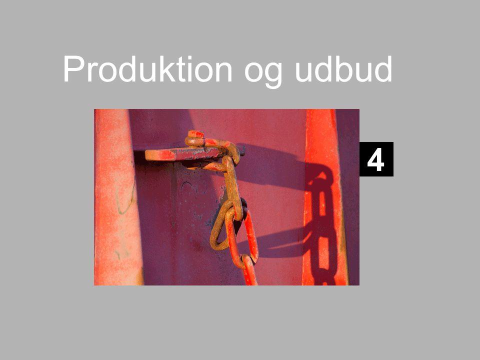 Produktion og udbud 4