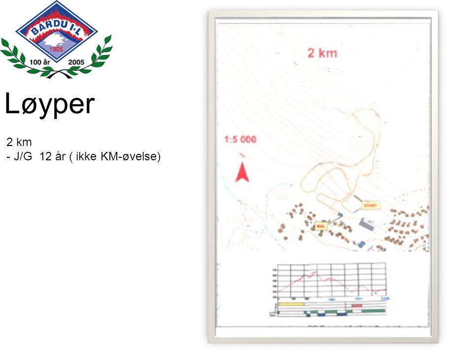 Løyper 3 km -J/G 13 - 14 år) -Stafett 13-16