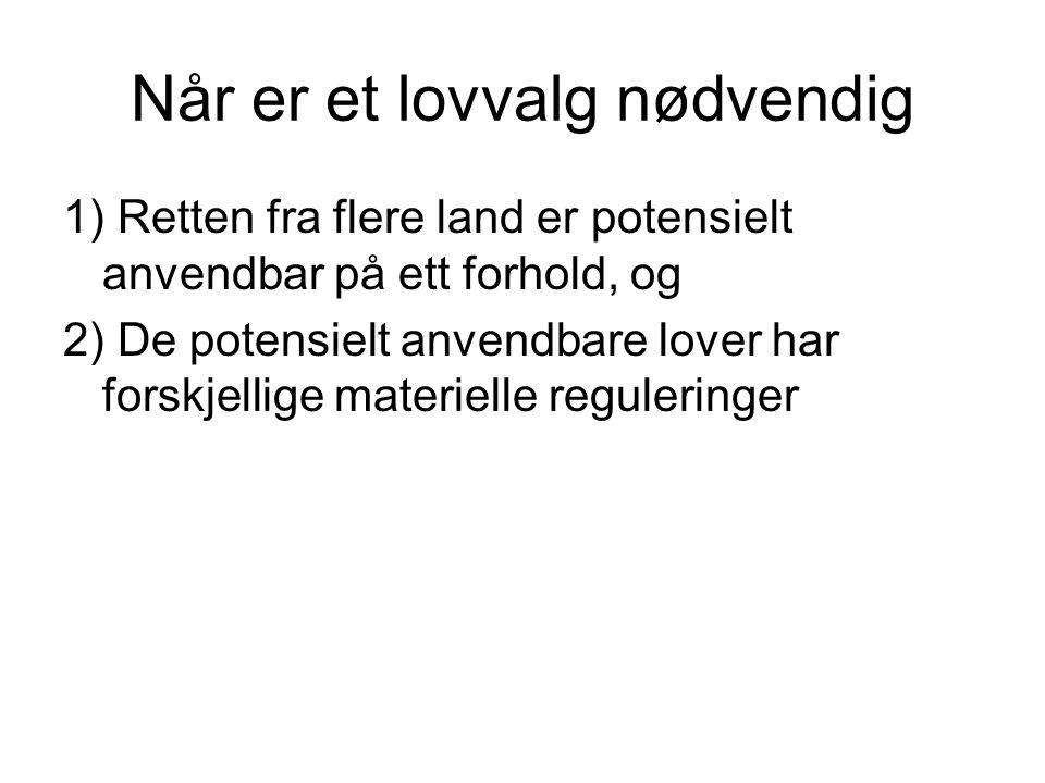 Litteratur Selskapsrett: –Gaarders Innføring i Internasjonal privatrett ved Lundgaard, 2000, 183-189
