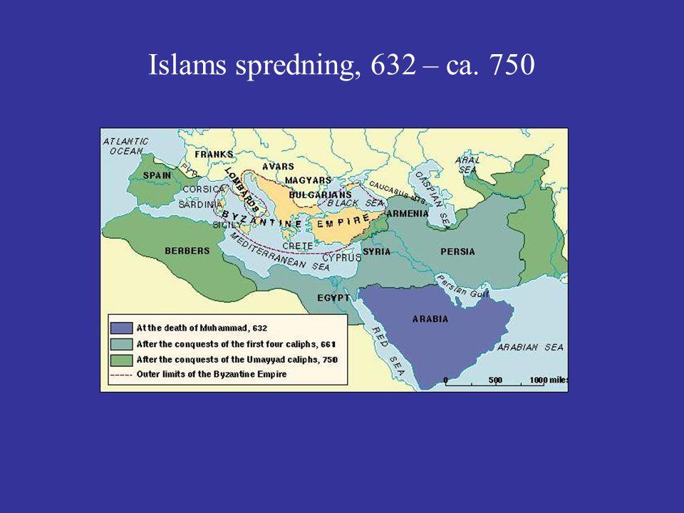Islams spredning, 632 – ca. 750