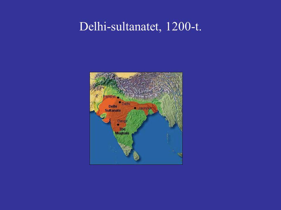 Delhi-sultanatet, 1200-t.