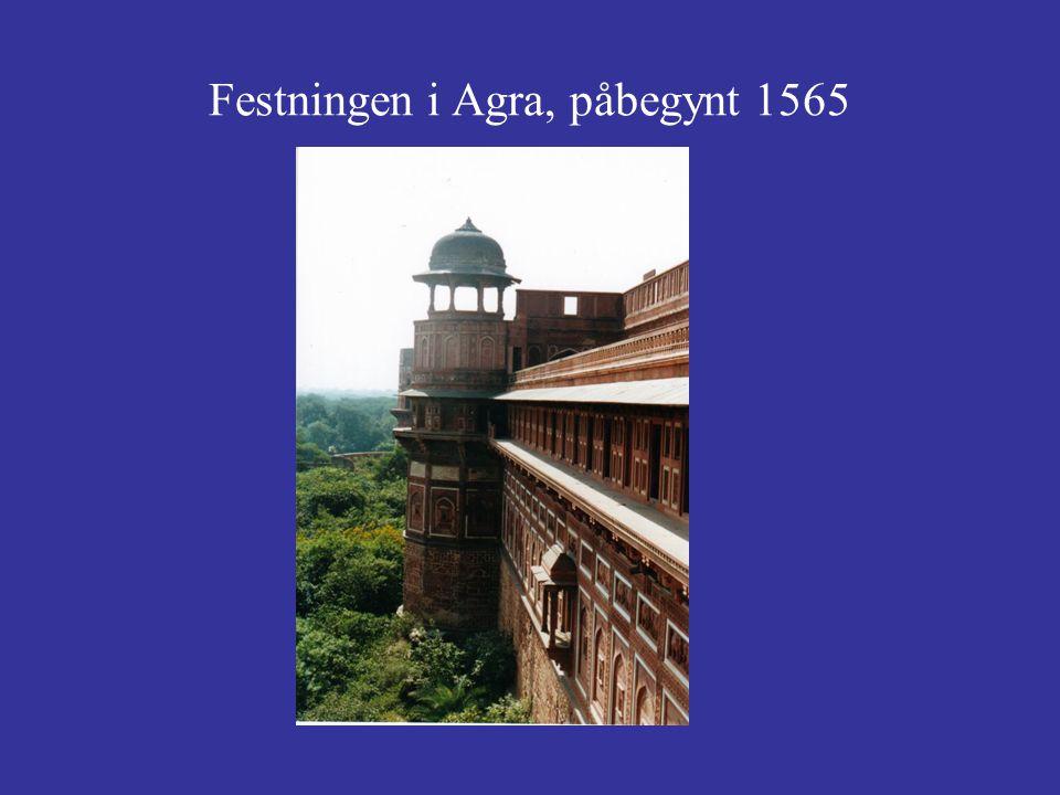 Festningen i Agra, påbegynt 1565