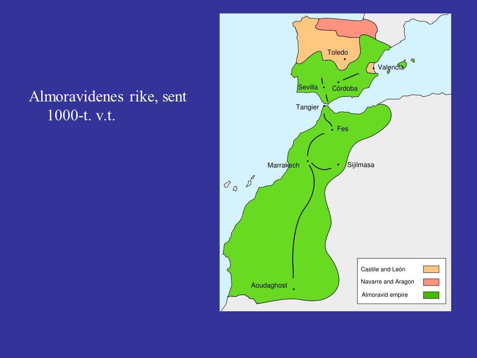 Almoravidenes rike, sent 1000-t. v.t.