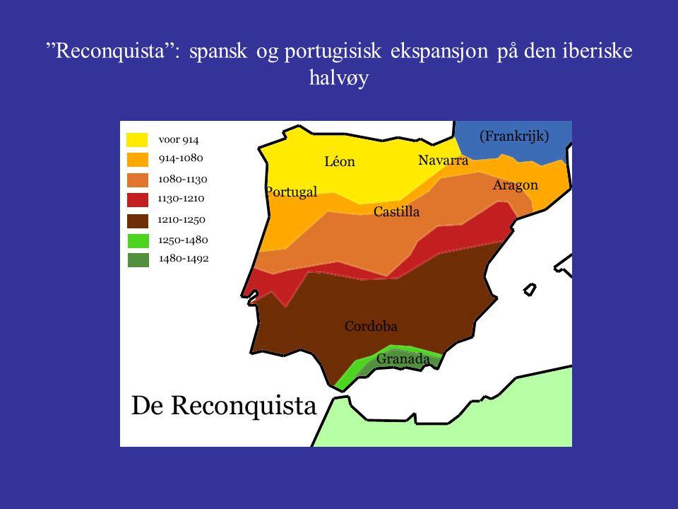 """""""Reconquista"""": spansk og portugisisk ekspansjon på den iberiske halvøy"""