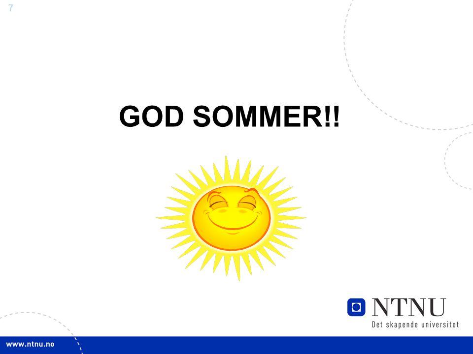 77 GOD SOMMER!!