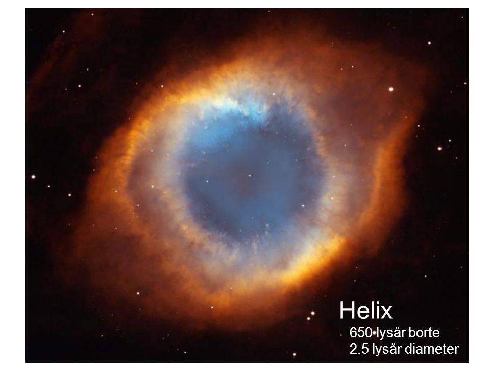 AST1010 - Stjernenes sluttstadier10 Helix 650 lysår borte 2.5 lysår diameter