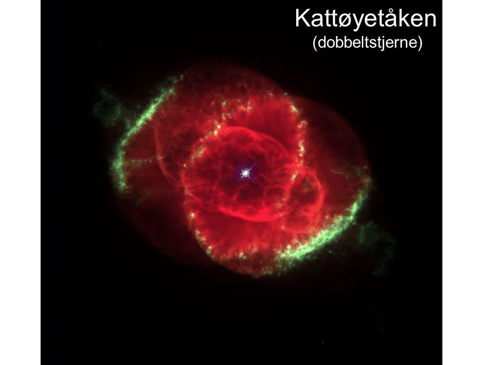 AST1010 - Stjernenes sluttstadier Kattøyetåken (dobbeltstjerne)