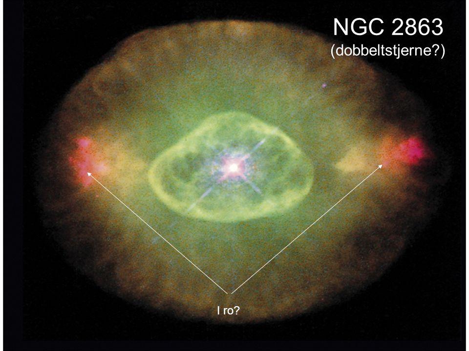 AST1010 - Stjernenes sluttstadier17 NGC 2863 (dobbeltstjerne?) I ro?