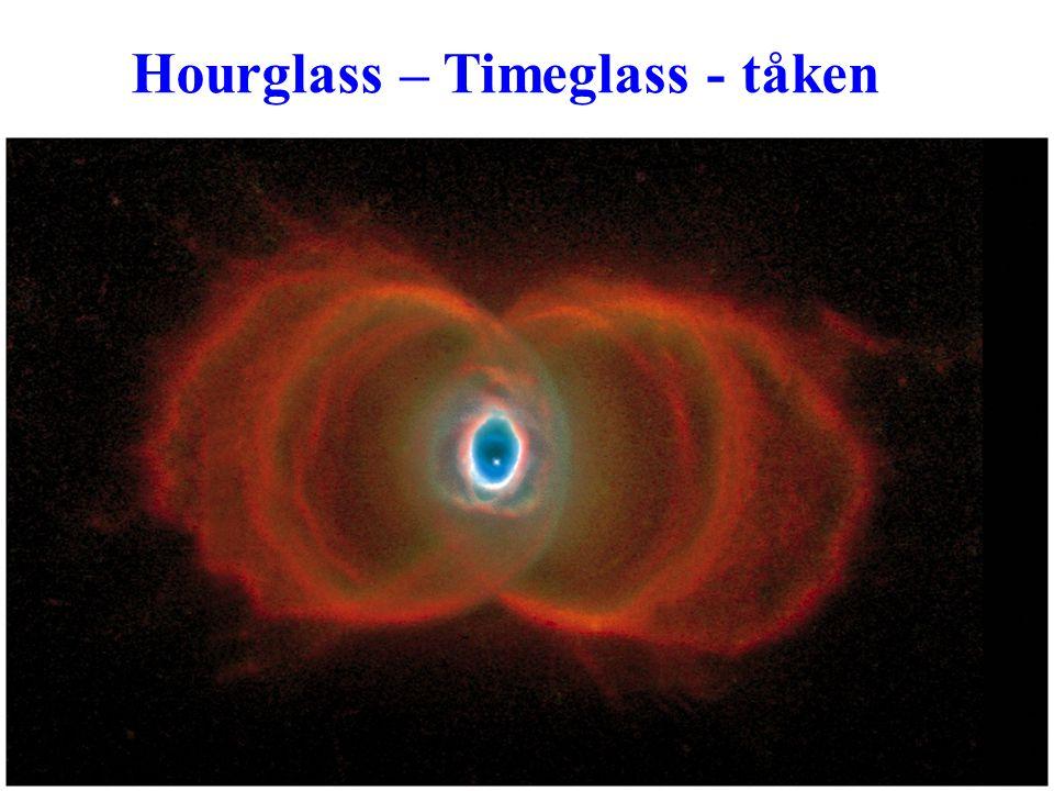 AST1010 - Stjernenes sluttstadier19 Hourglass – Timeglass - tåken