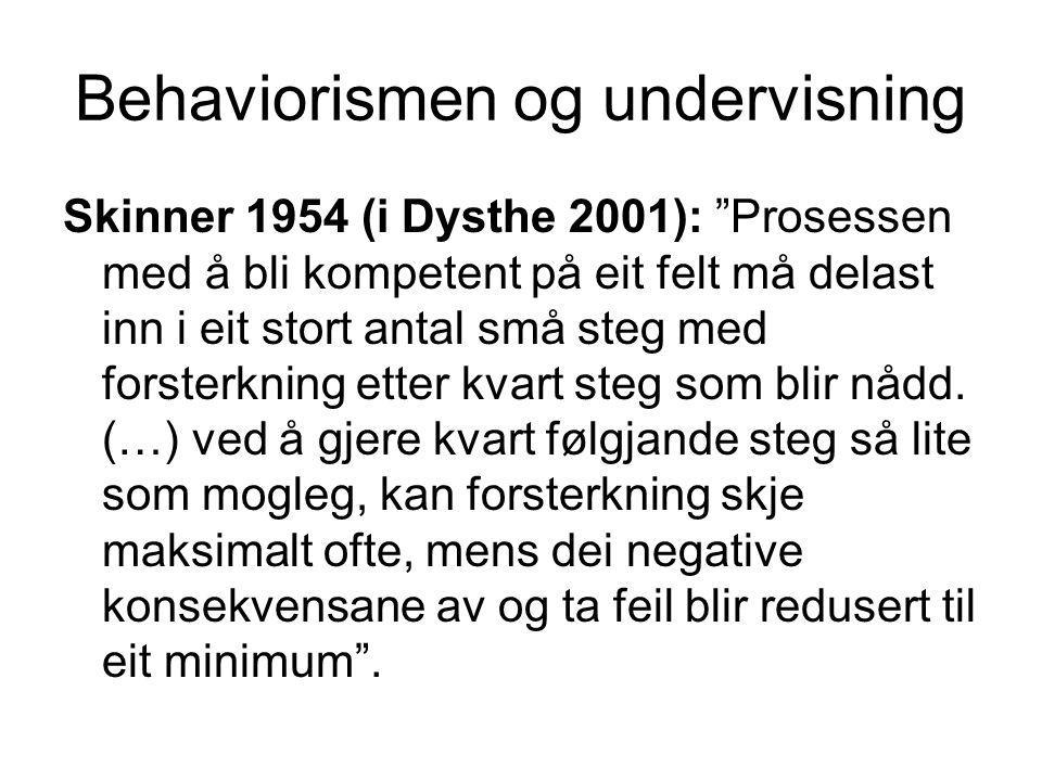 Den almenne lov for kulturell utvikling Vygotsky (1981:163) Enhver funksjon i barns kulturelle utvikling viser seg to ganger, eller på to plan.