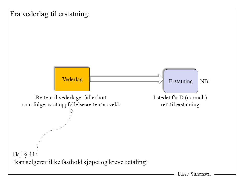 (4) Avbestillingsrett under særlige vilkår – ingen (eller redusert) erstatning: Lasse Simonsen Særlig sterke grunner Særlig sterke grunner Ingen erstatning Utenfor kontroll -unntaket mv: -Hvtjl § 40 (2) -Buofl § 52,4 -Pakkereisel § 4-1 og § 4-3 -Skolekontrakter, se retningslinjer Ingen konsekvenser Glidende overgang mot bruk av avtl § 36