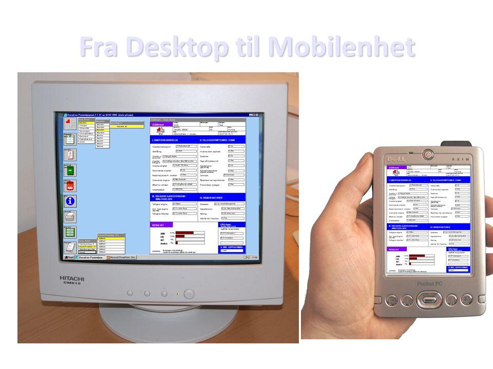 Fra Desktop til Mobilenhet