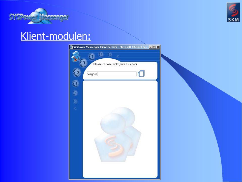 Klient-modulen: