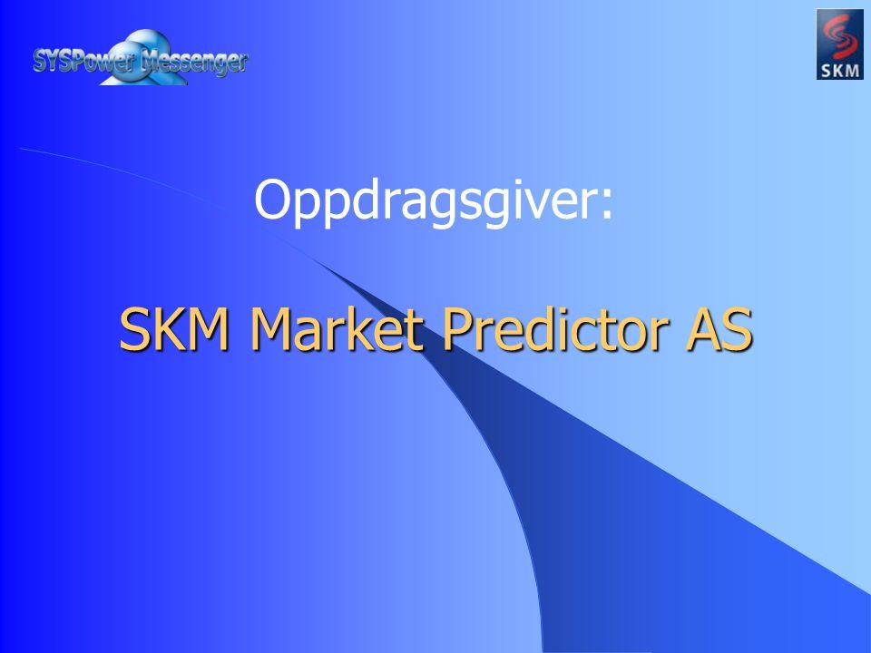 Oppdragsgiver: SKM Market Predictor AS