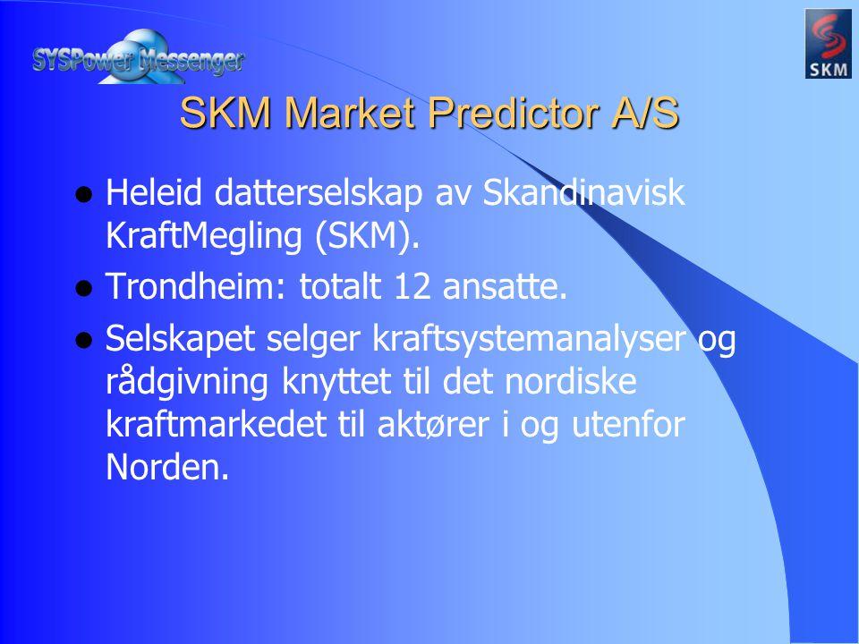 Heleid datterselskap av Skandinavisk KraftMegling (SKM).