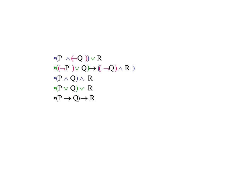 P   Q  R  P  Q   Q  R P  Q  R P  Q  R P  Q  R ( ) ( ) ( ) ( ) ( )