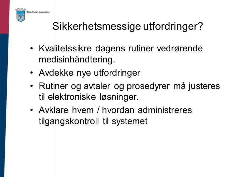 Juridiske utfordringer.