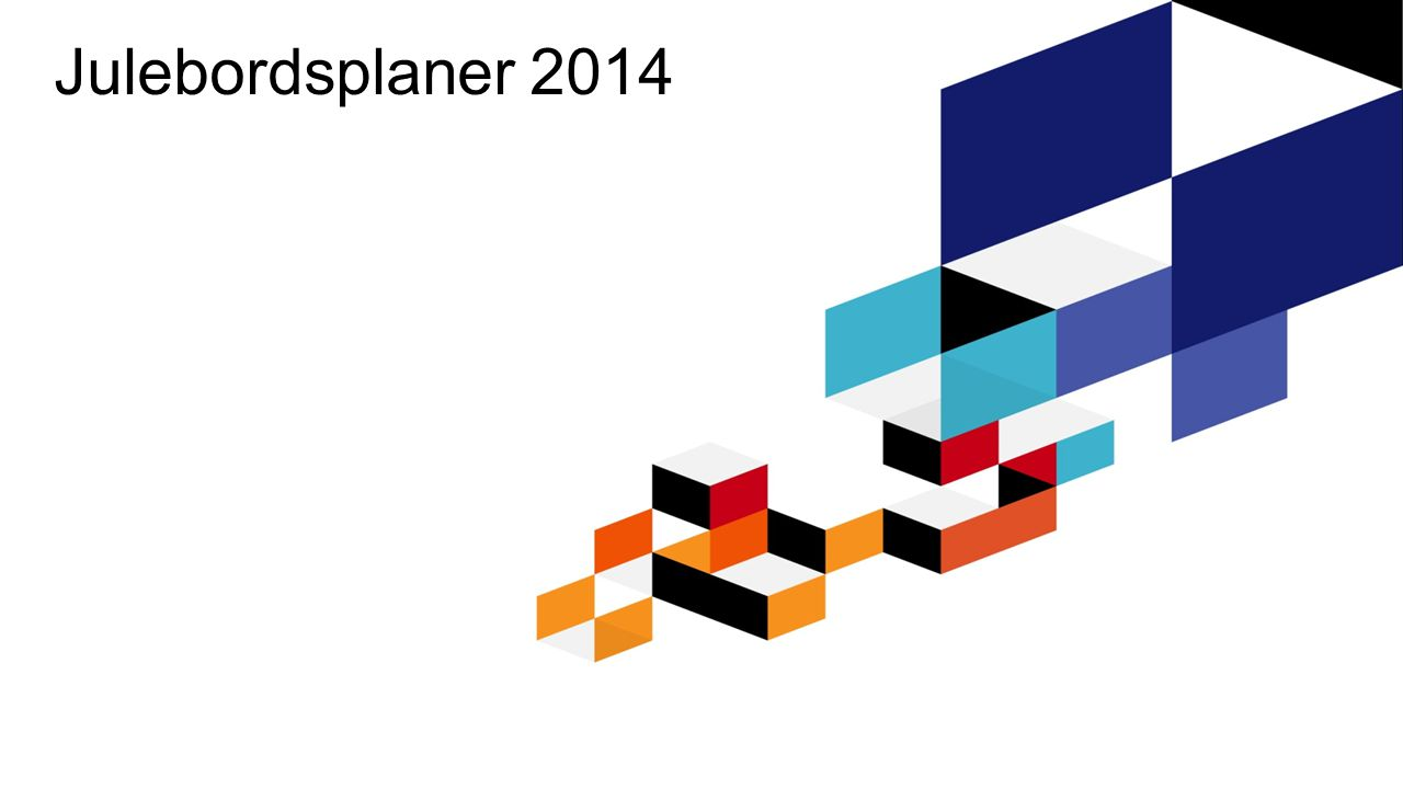 ProsjekttypeAdhoc via TNS Gallups panelbuss FormålKartlegge befolkningens julebordsplaner julen 2014.