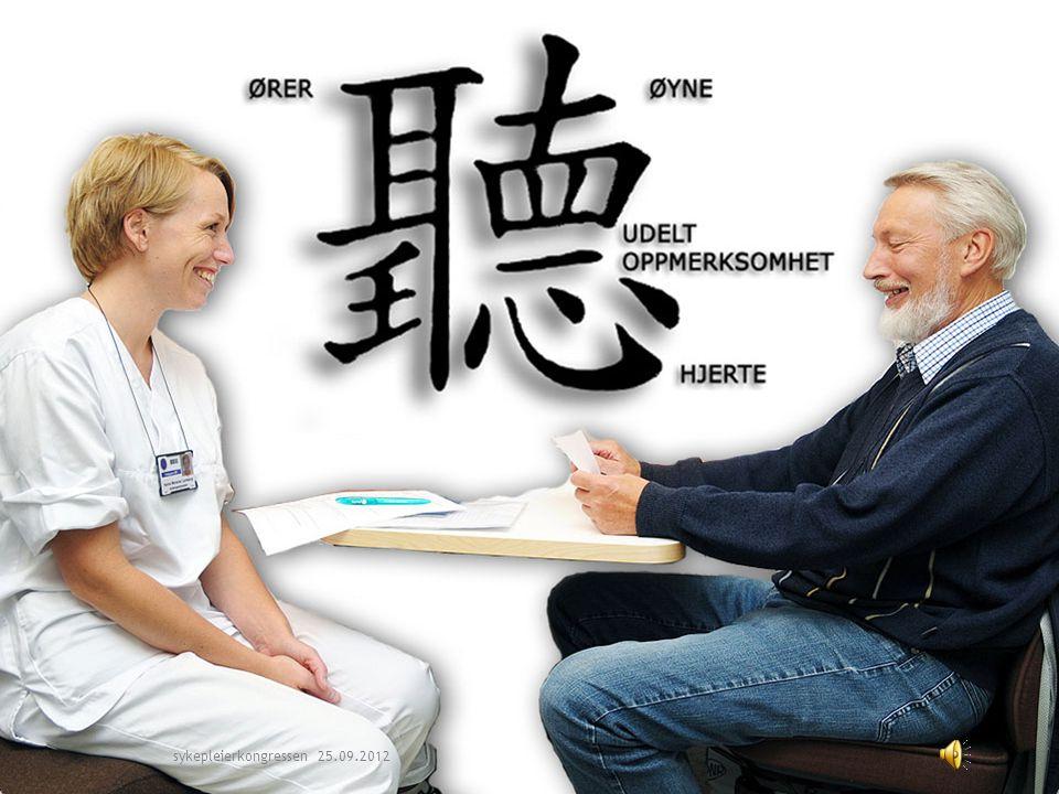 March 31, 201511 sykepleierkongressen 25.09.2012
